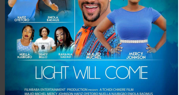 WATCH: Majid Michel, Mercy Johnson In New Romantic Comedy Movie 'Light Will Come'