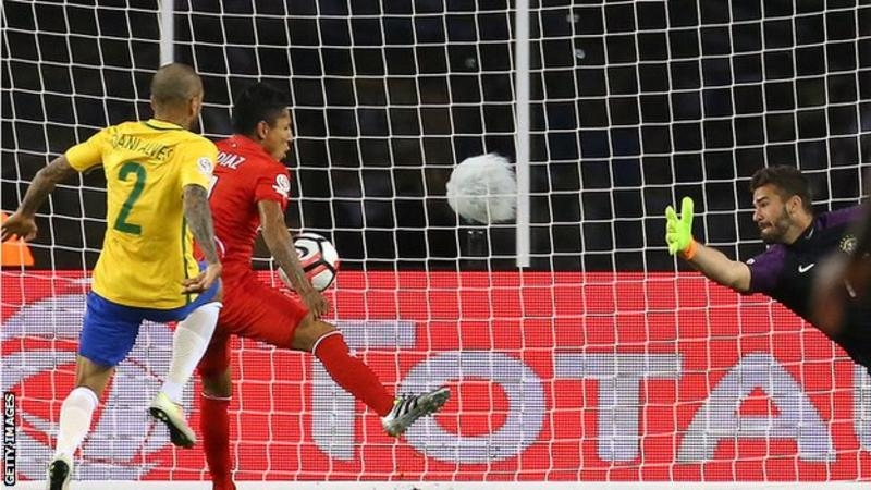 Copa America: Brazil knocked out by Peru in group stages
