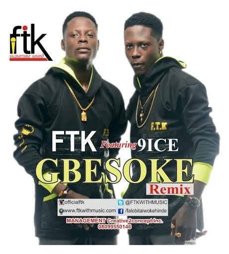 FTK makes grand entry into Ghana, releases Gbesoke remix featuring 9ice