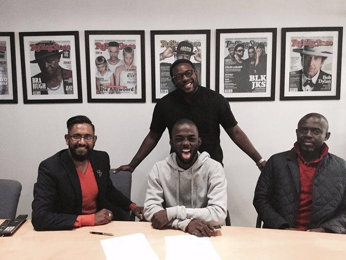 Ghana's Okuntakinte Signs Huge Sony Deal