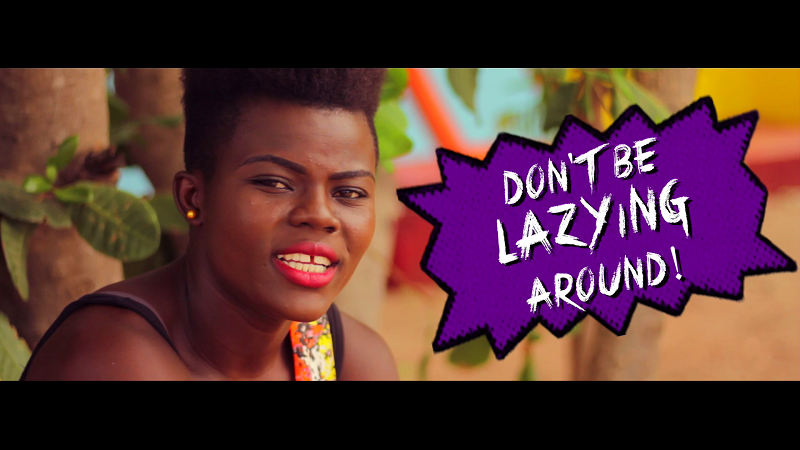"WATCH: Wiyaala Builds African Village for ""Tuma"" Video"
