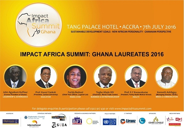 Liranz Limited to be the official Technology partner for the maiden edition of the impact Africa summit: Ghana Laureates 2016