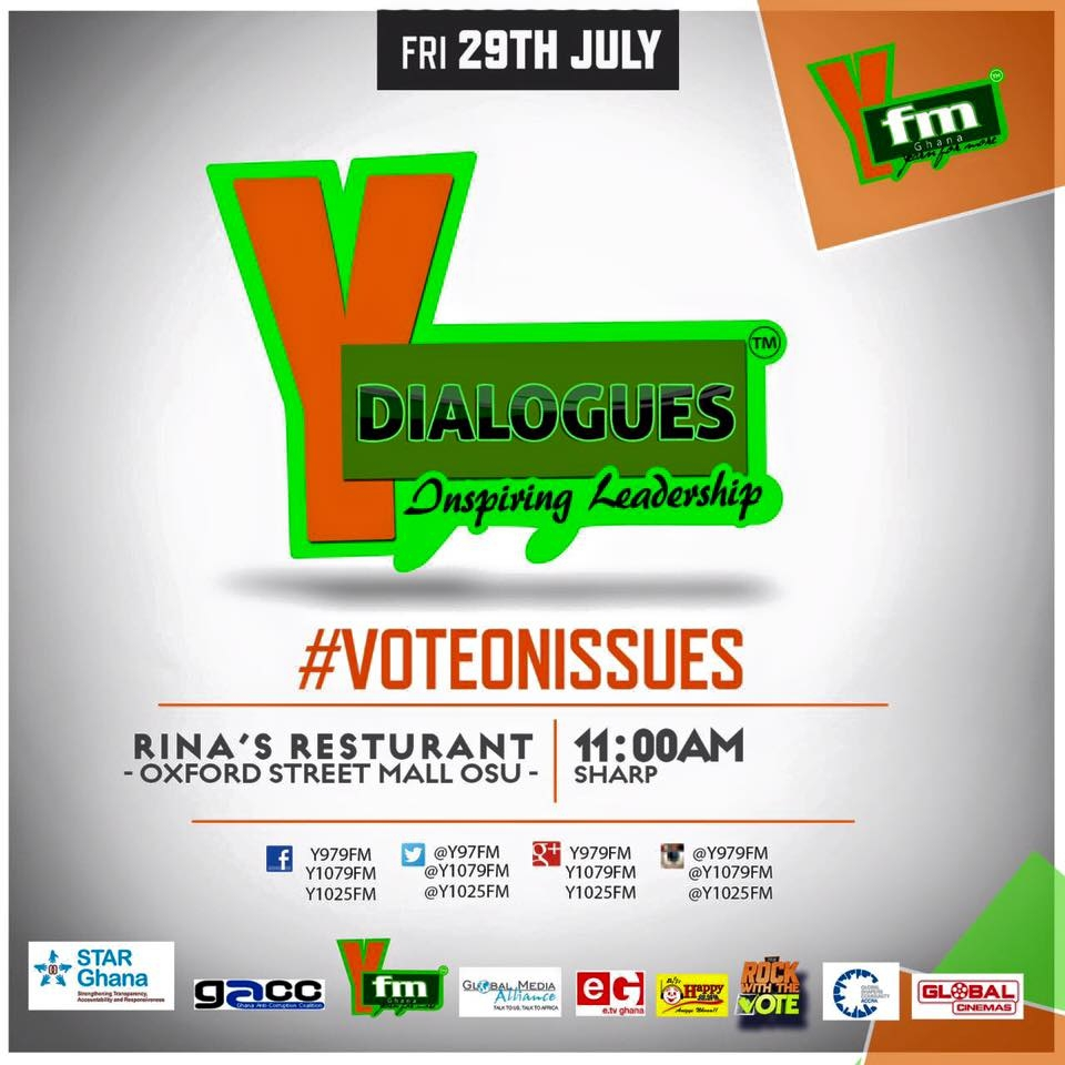 PHOTOS: All Set for Y Dialogues at Oxford Street Mall in Osu at 10am
