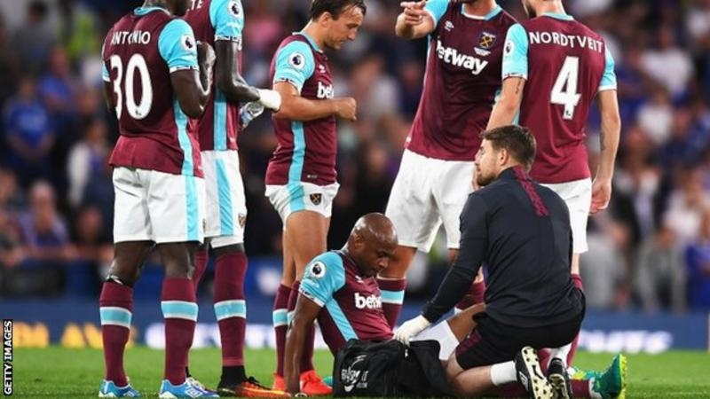 Andre Ayew out for four months with thigh injury