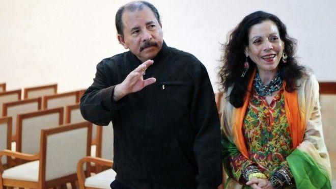 President Daniel Ortega has named his wife as his vice-president