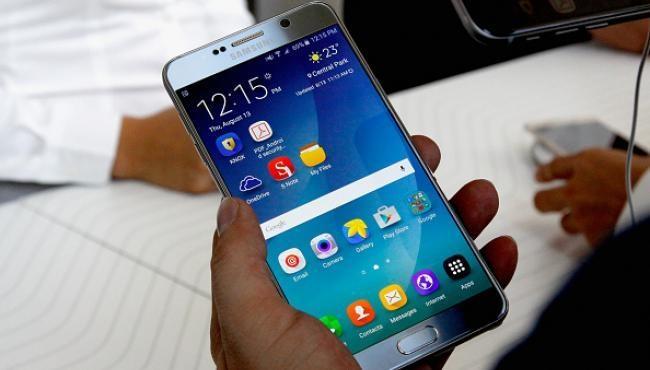 Samsung Unveils Galaxy Note7 Smartphone