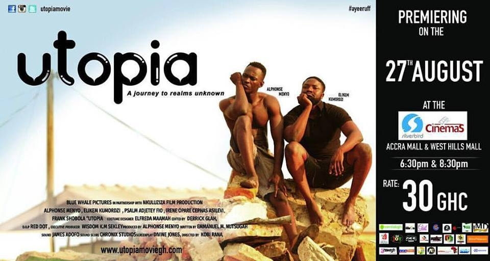 Utopia movie to premiere at Silverbird cinemas on August 27