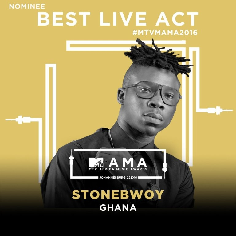 Stonebwoy and R2bees nominated for MTV Africa Music Awards