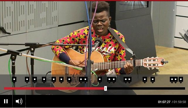 LISTEN UP: Wiyaala Plays Live For BBC Radio In The UK