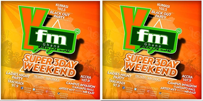 YFM to thrill listeners with SUPER 3 DAY WEEKEND