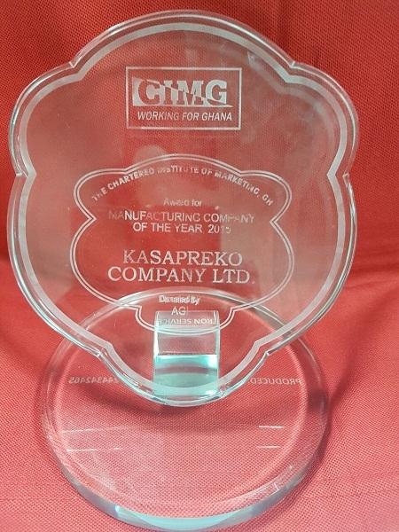 Kasapreko dominates beverage industry at CIMG awards