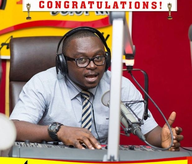 Full List of Winners: Happy FM's PJ Mozey and Kwabena Boafo WIN at RTP Awards 2016