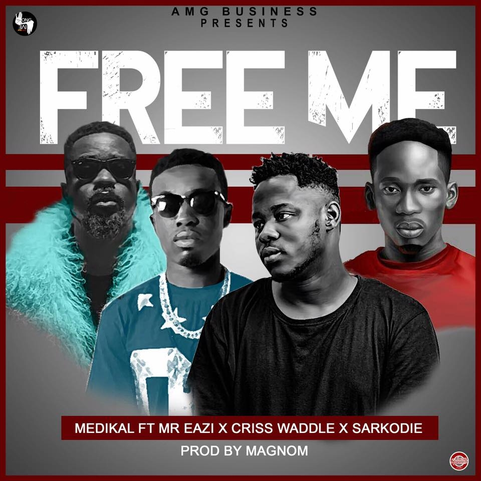 """LISTEN UP: Medikal's """"Free Me"""" features Mr. Eazi, Sarkodie and Criss Waddle"""