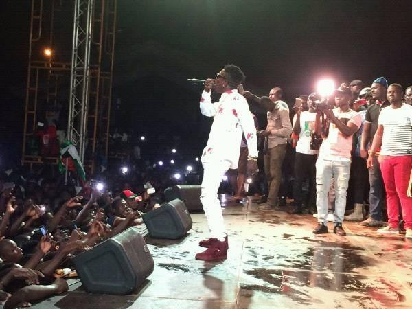 Shatta Wale was NOT PAID to perform in Tamale?