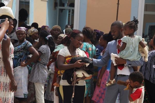 Abbeam Institute Donates to Residents of Kasoa-Obom