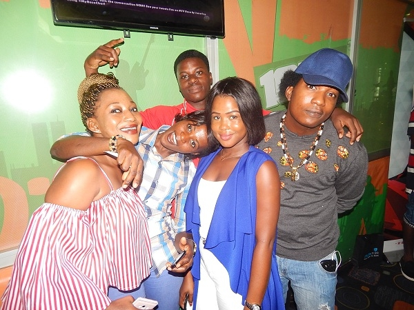 PHOTOS: The ONE finalists hang out with Trigmatic on YFM