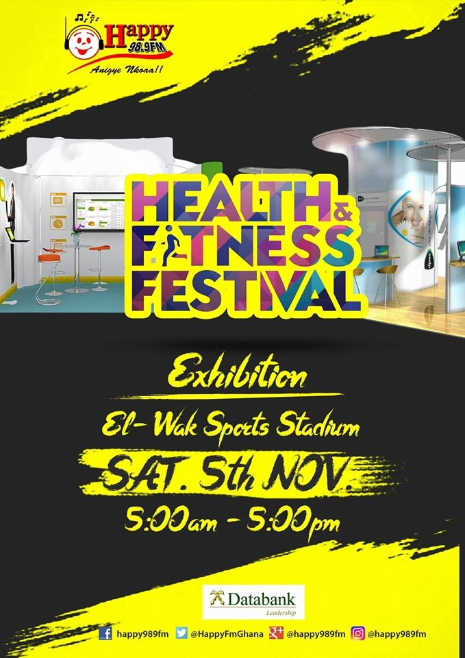 Happy Fm Health And Fitness Festival To Showcase 'Made In Ghana' Products And Services