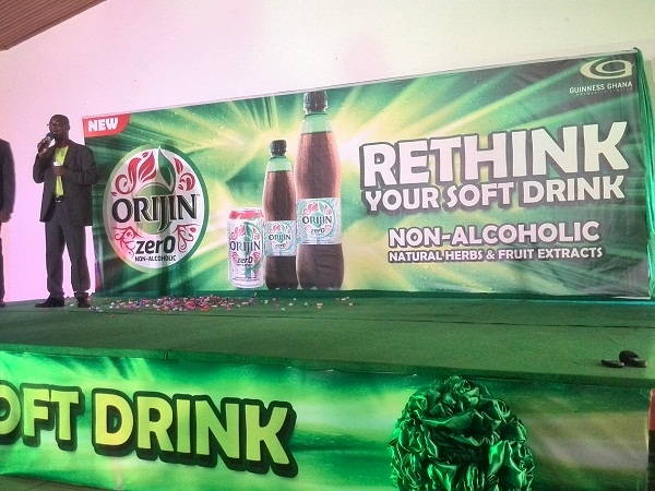 Guinness Ghana Breweries Limited Launches ORIJIN ZERO