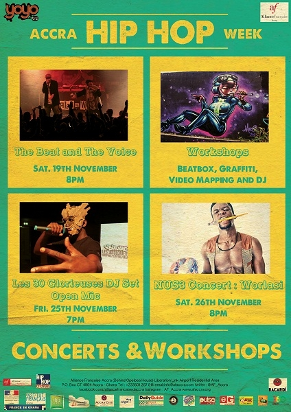 Hip-Hop Festival slated for 19th to 26th November in Accra