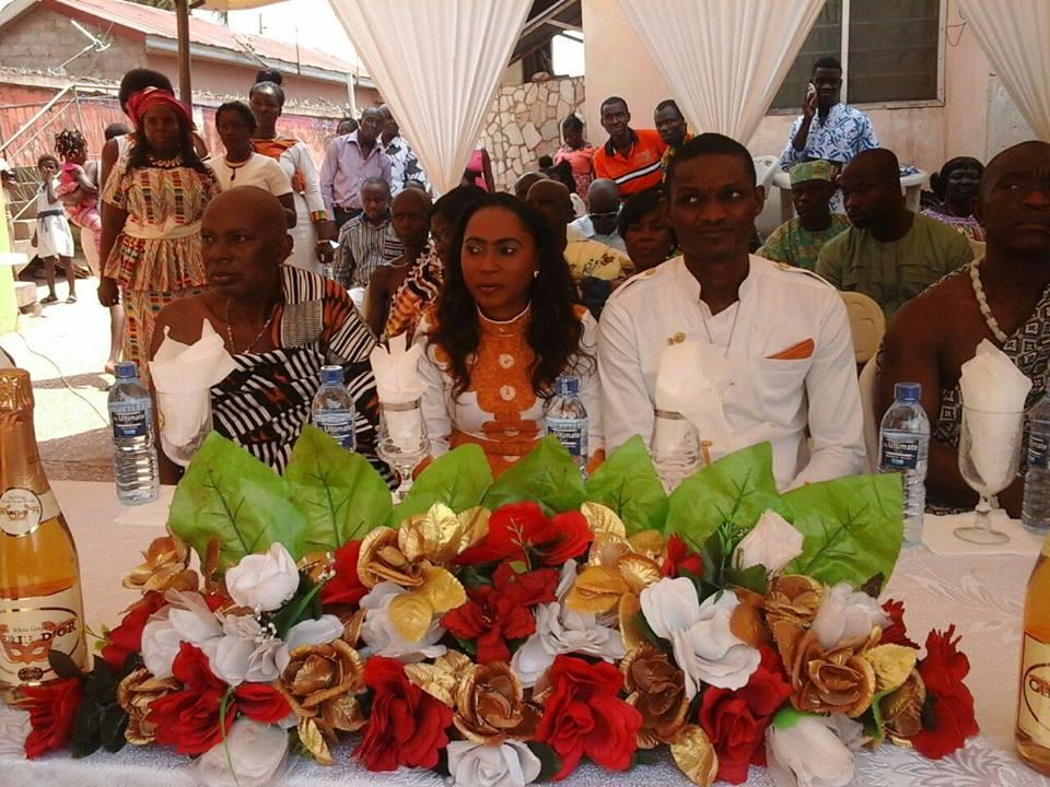 PHOTO: Happy FM's newscaster Nana Yaa Asamoah Marries