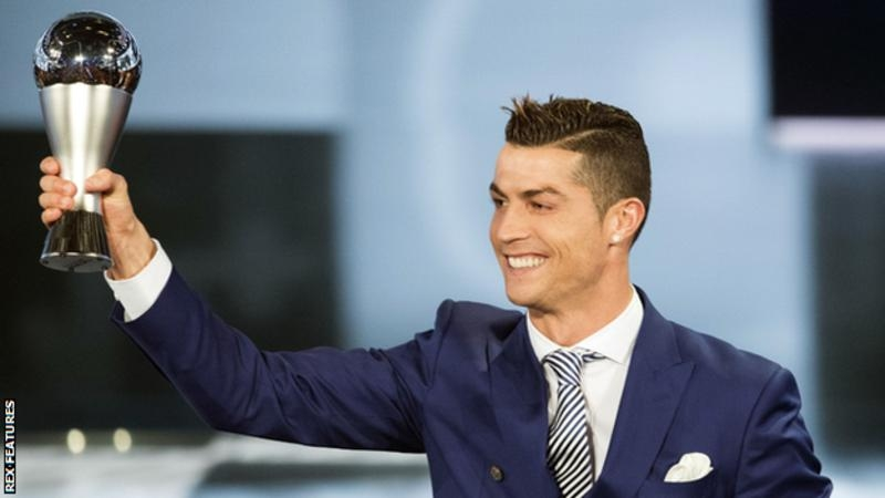 Cristiano Ronaldo wins FIFA best player award