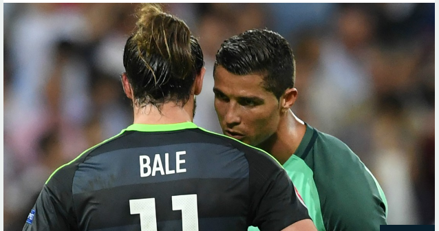 In praise of Ronaldo: Classy Words From Bale