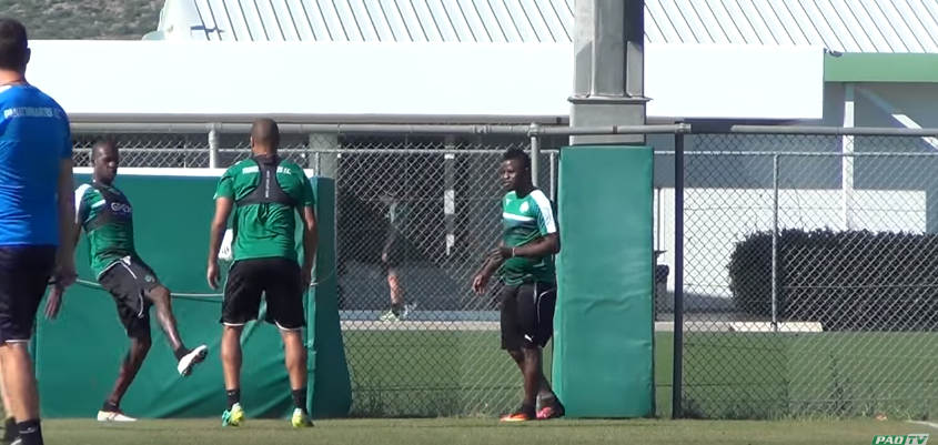 Wakaso Starts Training With New Club Panathinaikos