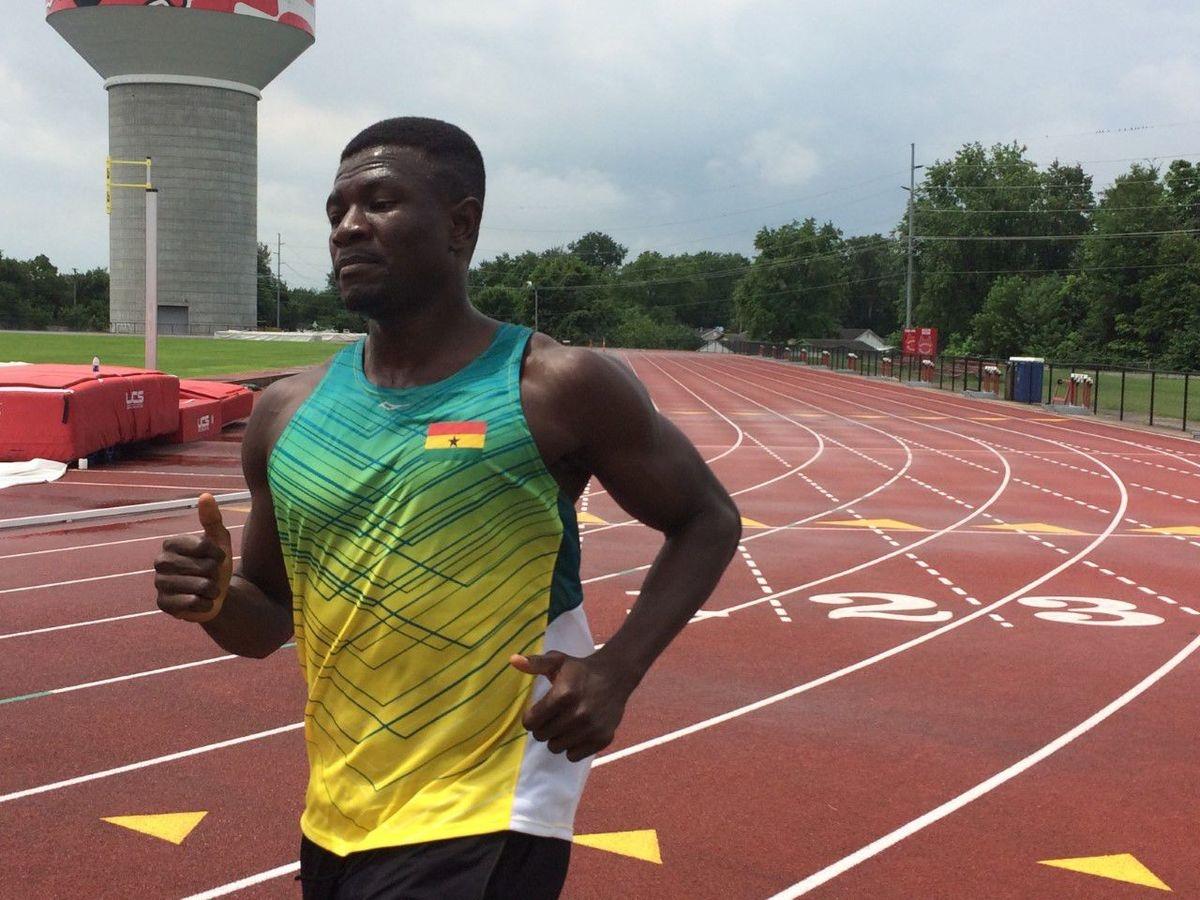 Emmanuel Dasor runs today as Amponsah crashes out