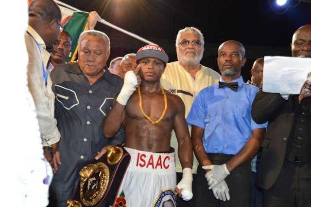 Isaac Dogbe Set For August 26 Showdown