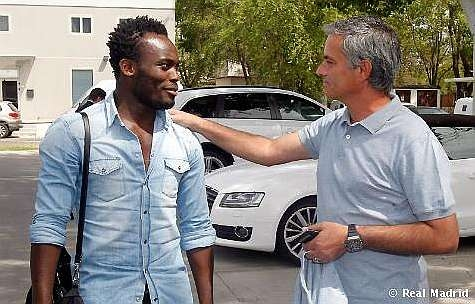 Revealed: Mourinho consoled Essien after teammates snubbed his party