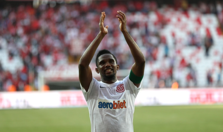 Samuel Eto'o dropped by club over racism claims