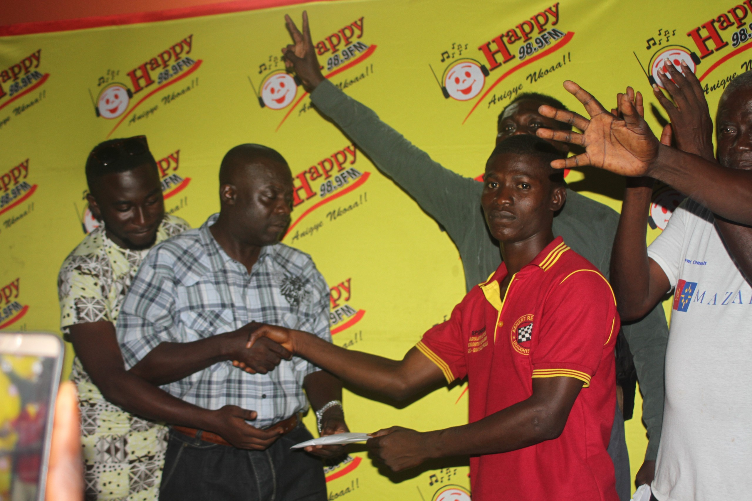 Abu National Wins 2016 Happy FM Damehene