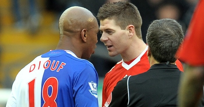 Diouf: Balotelli failed at Liverpool because of 'jealous' Gerrard