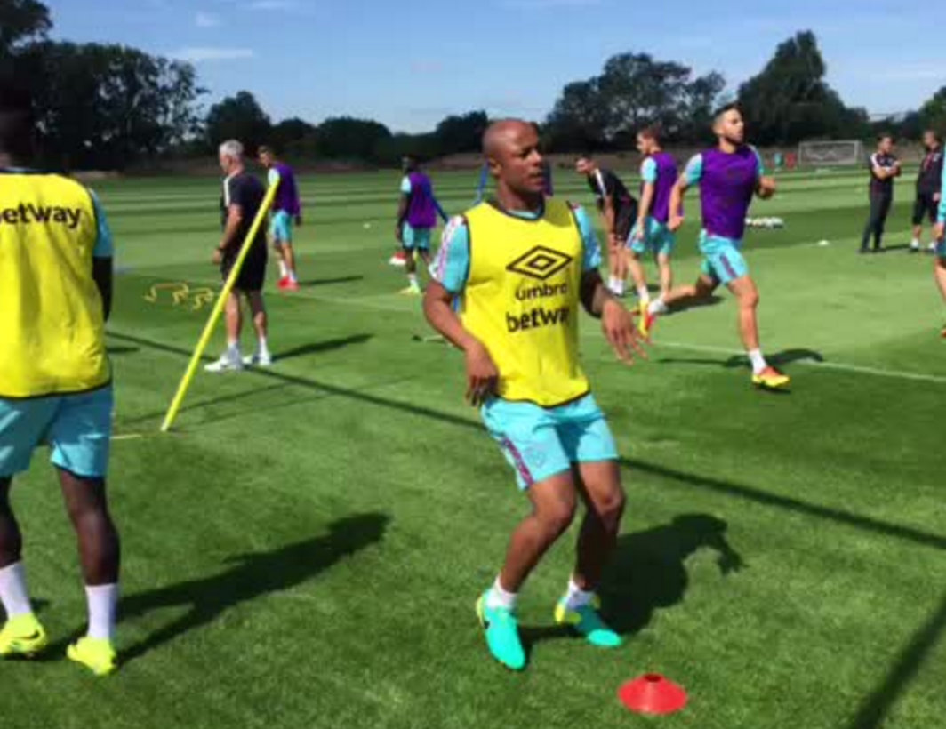 Andre Ayew Set To Make Early Injury Return