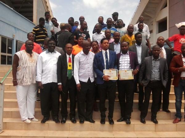 Arm Wrestling Federation Inaugurated- Charles Osei Asibey Heads