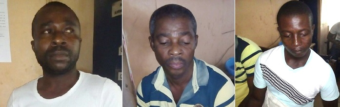 Three arrested for allegedly defrauding on Tonaton platform