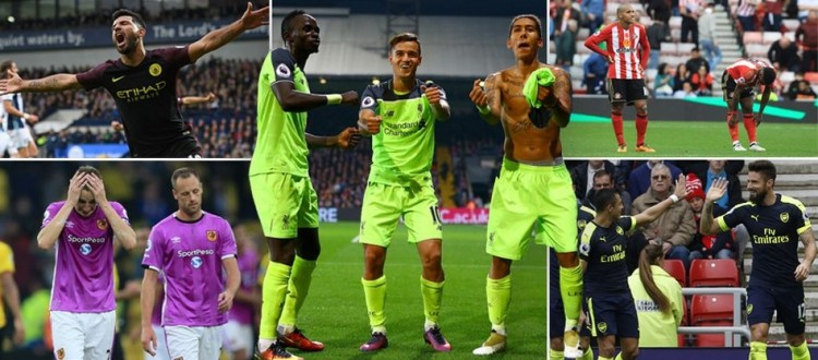 10 things we learned this Premier League weekend as Arsenal, Liverpool and Man City win big at the top