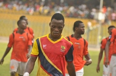 Samudeen Ibrahim Wins WORST Midfielder of the Year in Happy FM's Golden Bin Awards