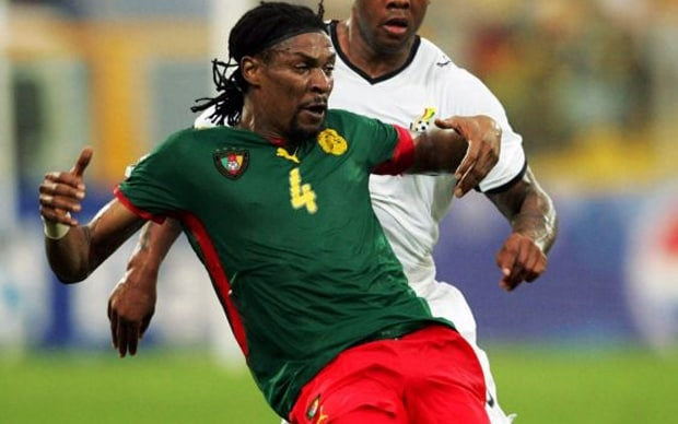 Rigobert Song fighting for his life after suffering a stroke