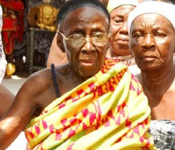 Queenmother of Asante, Afia Kobi Serwaa Ampem dies at 109