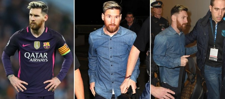REVEALED: Sergio Aguero forced to step in as furious Lionel Messi involved in shock tunnel bust-up