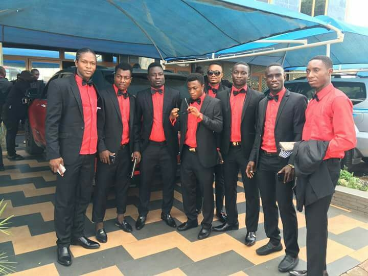 PHOTOS: Kotoko players, technical team storm Manhyia to mourn with Otumfour Osei Tutu II