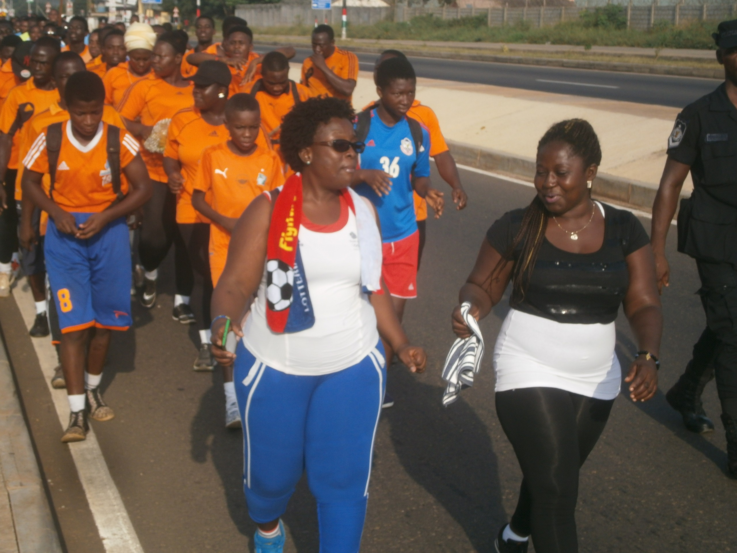 LIVE PHOTOS: Hundreds Throng El-Wak For Happy FM's Health and Fitness Festival