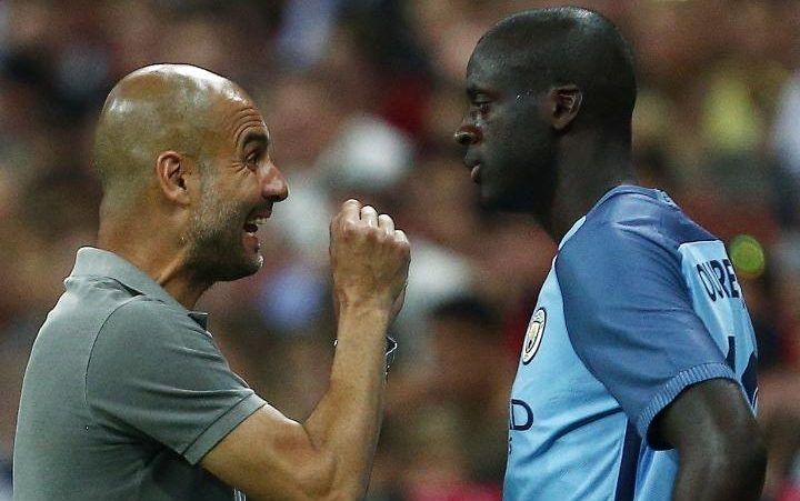Yaya Toure issues official apology to Pep Guardiola