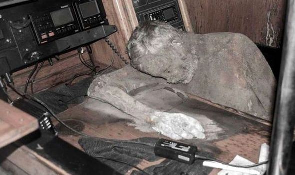 Mummified German Sailor (Only Dead A Week)