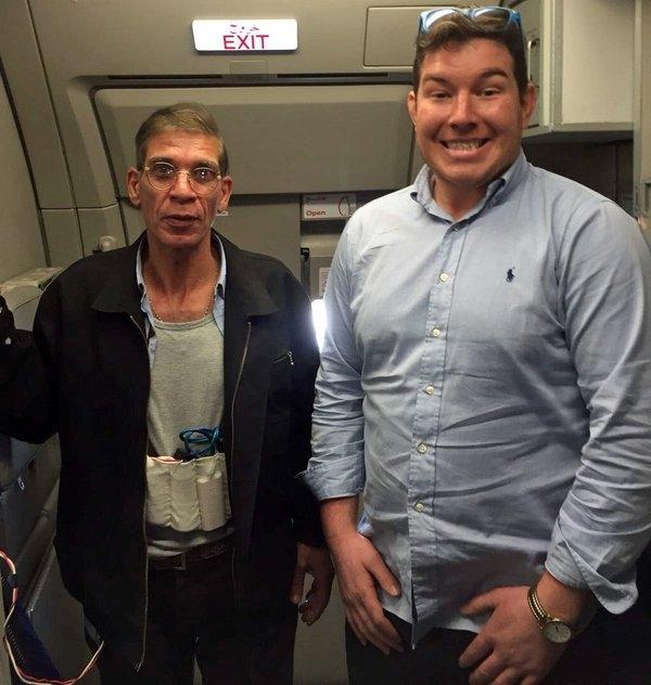 Selfie with a Hijacker...