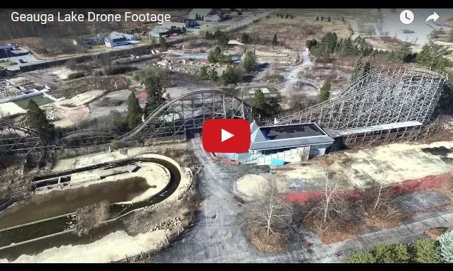 Geauga Lake Amusement Park, abandoned