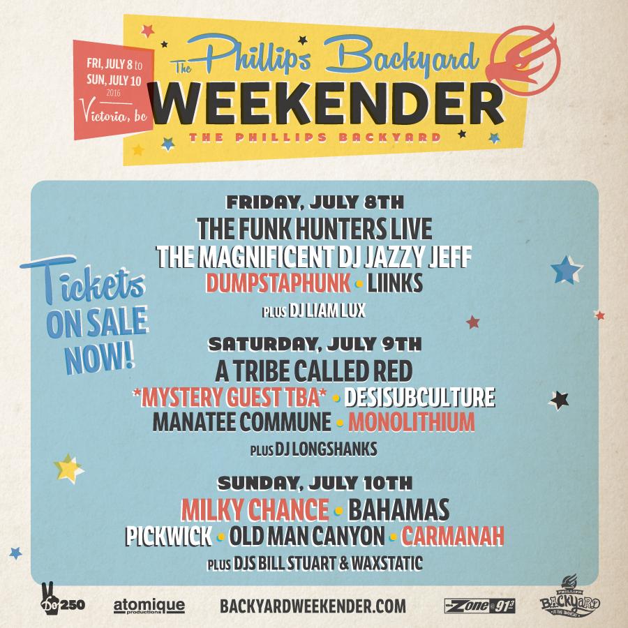 The Phillips Backyard Weekender 2016!