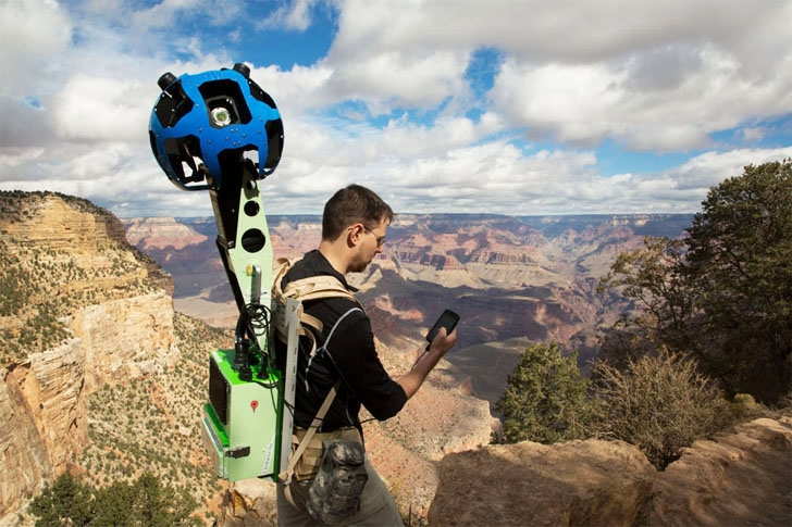 Google Maps Treks: The Street View for the Off-Roader