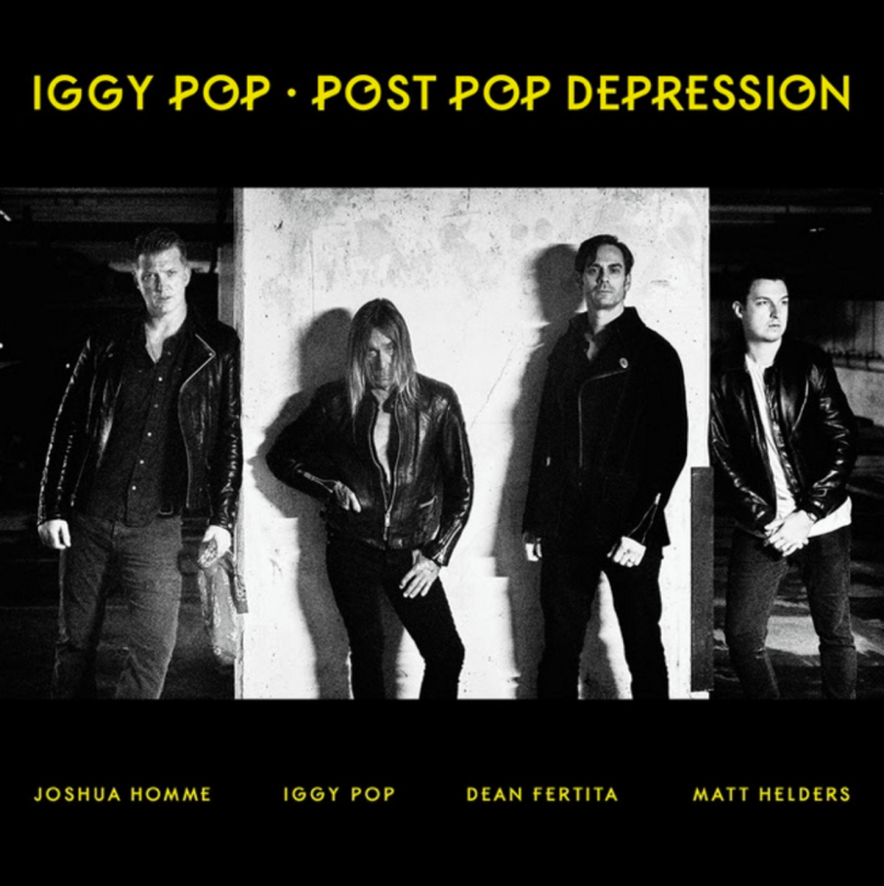 Stream: Iggy Pop and Josh Homme's collaborative album Post Pop Depression